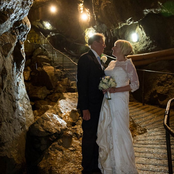 Wedding Venues Derbyshire - Treak Cliff Cavern